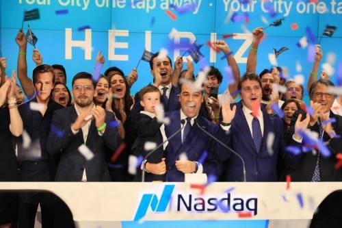 Helbiz al Nasdaq: è suonata la campanella