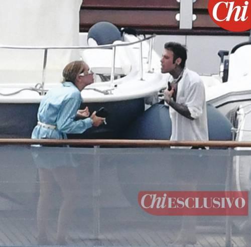 Urla e pianti sullo yacht: maxi lite fra Fedez e Ferragni