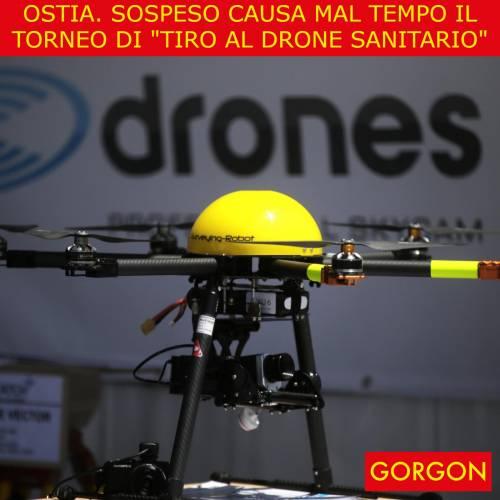 Ecco la satira del giorno. Il drone sanitario rimane a terra