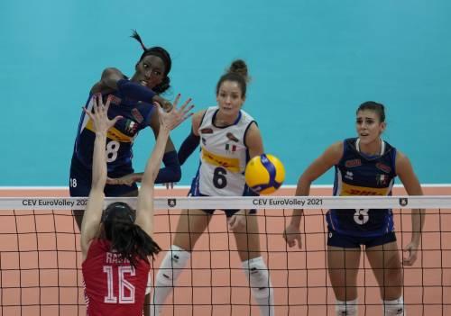 L'Italia femminile del volley è campione d'Europa