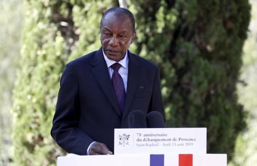 Golpe in Guinea, bloccata la nazionale del Marocco