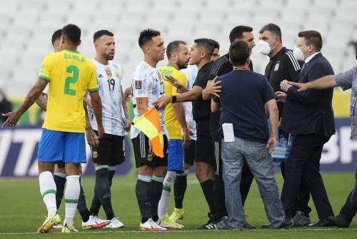 Brasile-Argentina choc. Partita interrotta per quarantena violata
