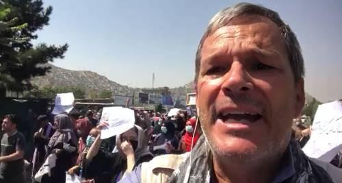 """""""Le proteste, l'arresto, la lotta coi talebani. Ecco cosa mi è successo a Kabul"""""""