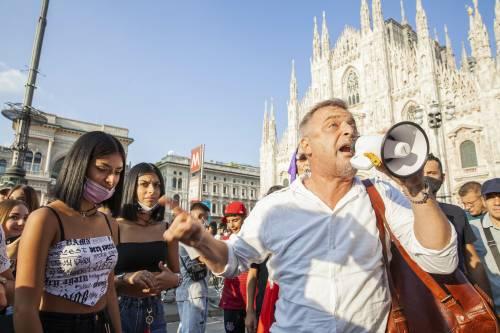 """Un altro sabato di proteste da Milano a Roma. Anelli: """"Non riusciamo a radiare i medici no-Vax"""""""