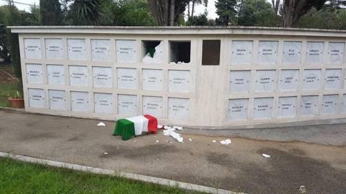 Profanazione choc al cimitero dei caduti della Rsi: pure il feretro di un 15enne
