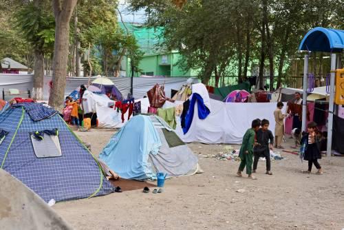 Tra gli sfollati a Kabul