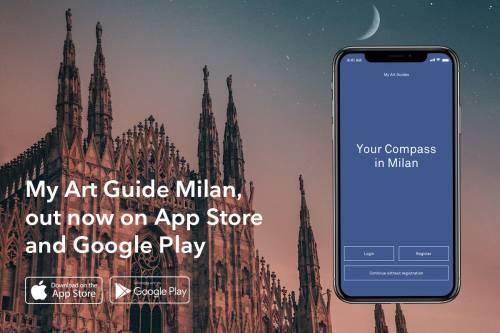 My Art Guide Milan, tutti gli eventi della settimana dell'arte in una App