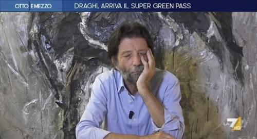 """""""Non so chi sia..."""": è scontro tra Cacciari e Stefano Feltri sul Green pass"""