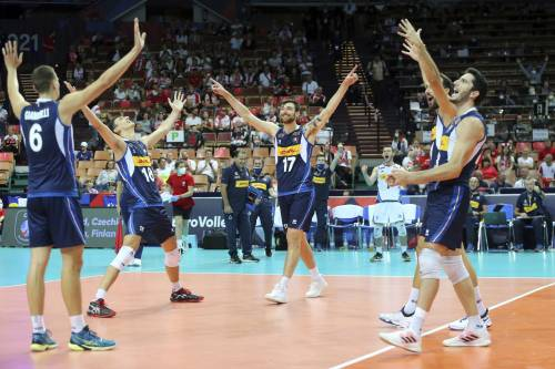 L'Italia del volley è campione d'Europa: battuta 3-2 la Slovenia