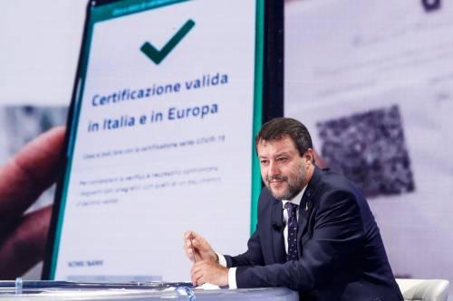 "Green Pass, ok da 80 leghisti. Salvini: ""Ora tagli a Rdc"""