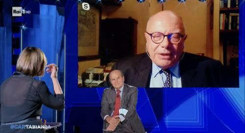 """""""Censura militare..."""". E Galli sbotta in tv dalla Berlinguer"""