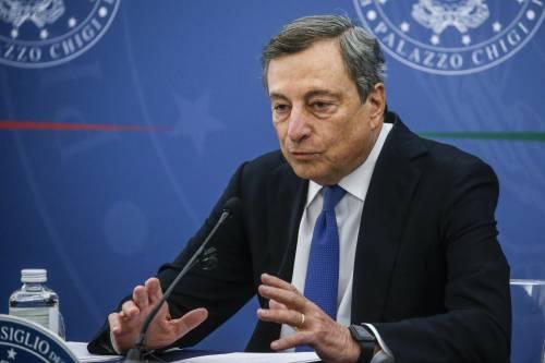 Welfare e bonus, Lega sulle barricate e Draghi media