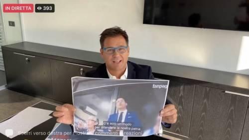 Angelo Ciocca in diretta Facebook