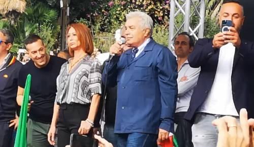 Il giudice Angelo Giorgianni sul palco di Roma