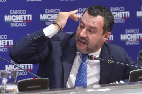 """L'audio (rubato) di Salvini sulla Meloni: """"Rottura di c..."""""""