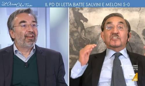 """""""Italiani disgustati da voi"""": scoppia la lite in tv"""