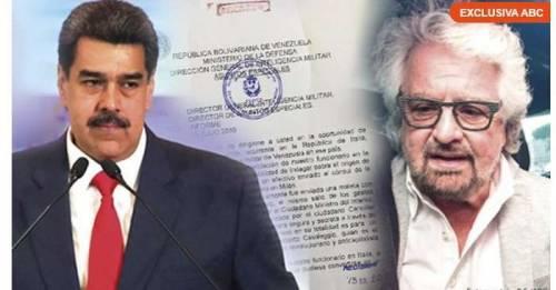"""La bomba dal Venezuela. """"Soldi ai Cinque stelle dal regime di Chavez"""""""