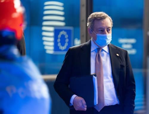 """Draghi sferza l'Europa: """"L'Italia lasciata sola sui migranti"""""""
