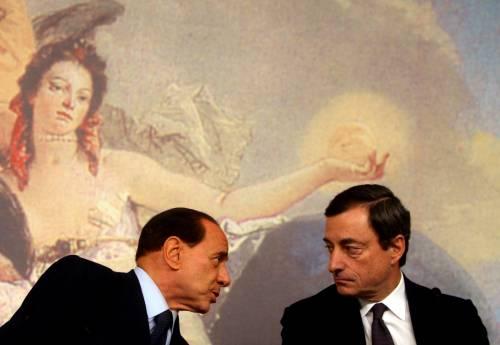La telefonata Draghi-Berlusconi: ecco di cosa hanno parlato