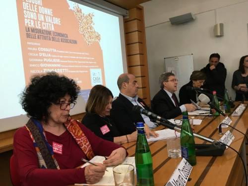 """Da Zingaretti 700mila euro alle femministe, ma Fdi attacca: """"Campagna elettorale con i soldi della Regione"""""""