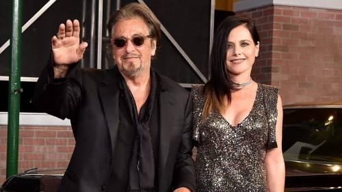 """La fidanzata di Al Pacino: """"L'ho lasciato perché è vecc"""