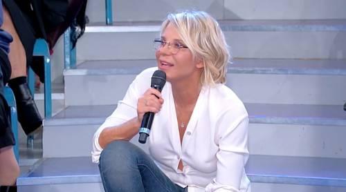Uomini e Donne, Maria De Filippi difende Gianni Sperti