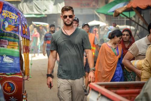 Chris Hemsworth in Extraction, prossimo film d'azione di Netflix