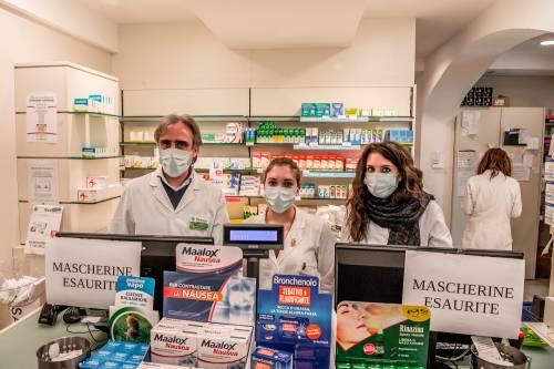 Boom di vendite di mascherine e disinfettanti