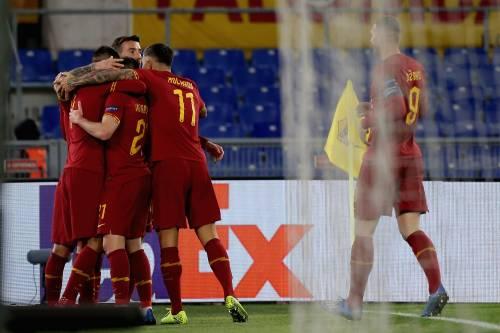 Europa League, la Roma piega a fatica il Gent: finisce 1-0 all'Olimpico