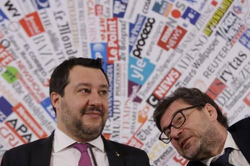 """Salvini evoca """"l'Italexit"""": """"Se l'Ue non cambia facciamo come gli inglesi"""""""