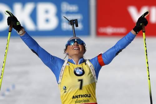 Mondiali di biathlon, Dorothea Wierer d'oro nell'inseguimento