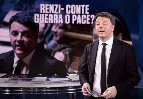 """Renzi sfida Conte: """"Sfiduciare Bonafede e abolire il reddito minimo"""""""