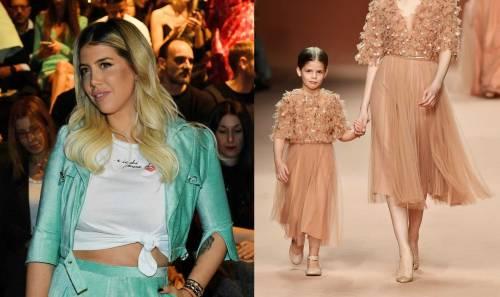 La figlia di Wanda Nara debutta alla Fashion Week a soli 5 anni