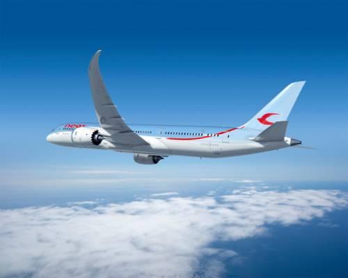 Il terzo 787 Dreamliner di Neos atterra a Milano Malpensa