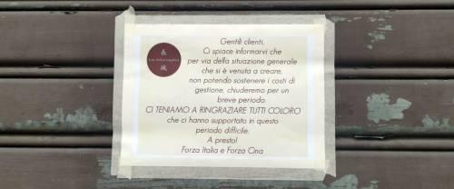 Sanremo, chiude storico ristorante cinese per il coronavirus