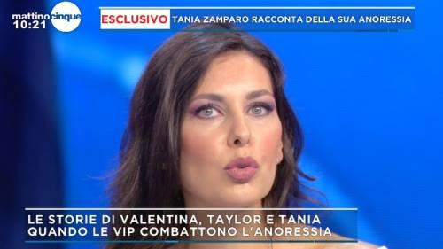 """Tania Zamparo: """"Ho sofferto di anoressia, non mi alzavo dal"""