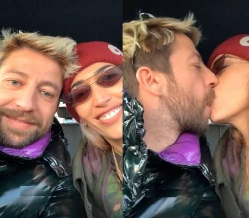 Nina Zilli e Danti escono allo scoperto: baci appassionati sui social