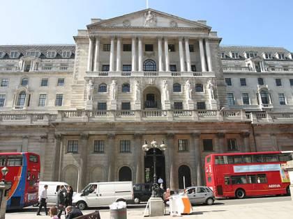 E' allarme a Londra:  un pacco sospetto  alla Banca d'Inghilterra