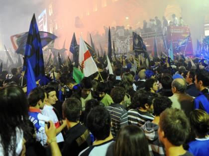 Inter Campione: scudetto17<br /> Moratti: &quot;Squadra nella storia&quot;