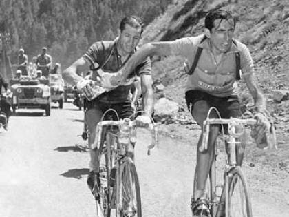 Coppi, Bartali e quella foto   entrata nel mito delle due ruote