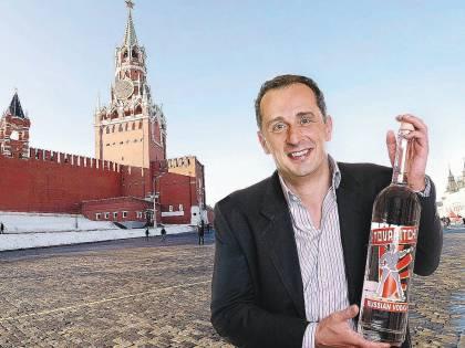 L'erede di Carlo Magno<br /> che distilla in Russia<br /> la vodka per i compagni