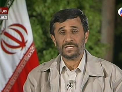 """Ahmadinejad: """"Le proteste non sono importanti"""""""