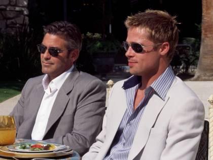 """La rivelazione di Brad Pitt:  """"Ma quale velina italiana?  George faccia coming out"""""""