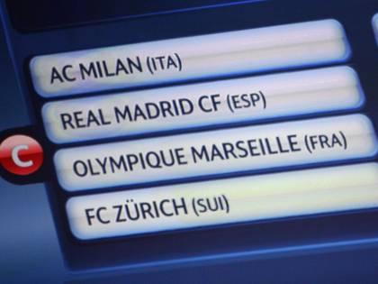 Champions: Juve-Bayern  Real Madrid per il Milan  L'Inter trova il Barcellona