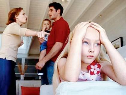 Genitori? Meglio litigiosi che separati