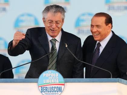 Regionali, il trionfo di Berlusconi e Bossi