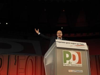 Manovra, a Roma in onda la sceneggiata del Pd<br /> Bersani: &quot;Questa crisi la paghino anche i ricchi&quot;