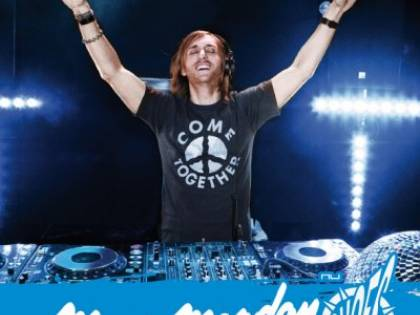 David Guetta alla consolle: scatena la Romagna