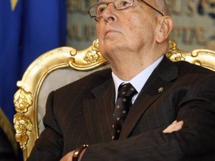 """Il Pdl al Quirinale: """"Questa maggioranza o voto"""""""