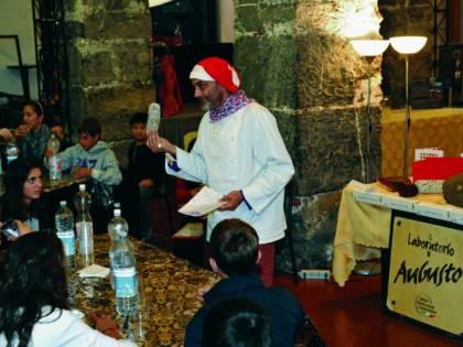 Festival «gustoso», i ragazzi  scoprono la scienza dei salumi